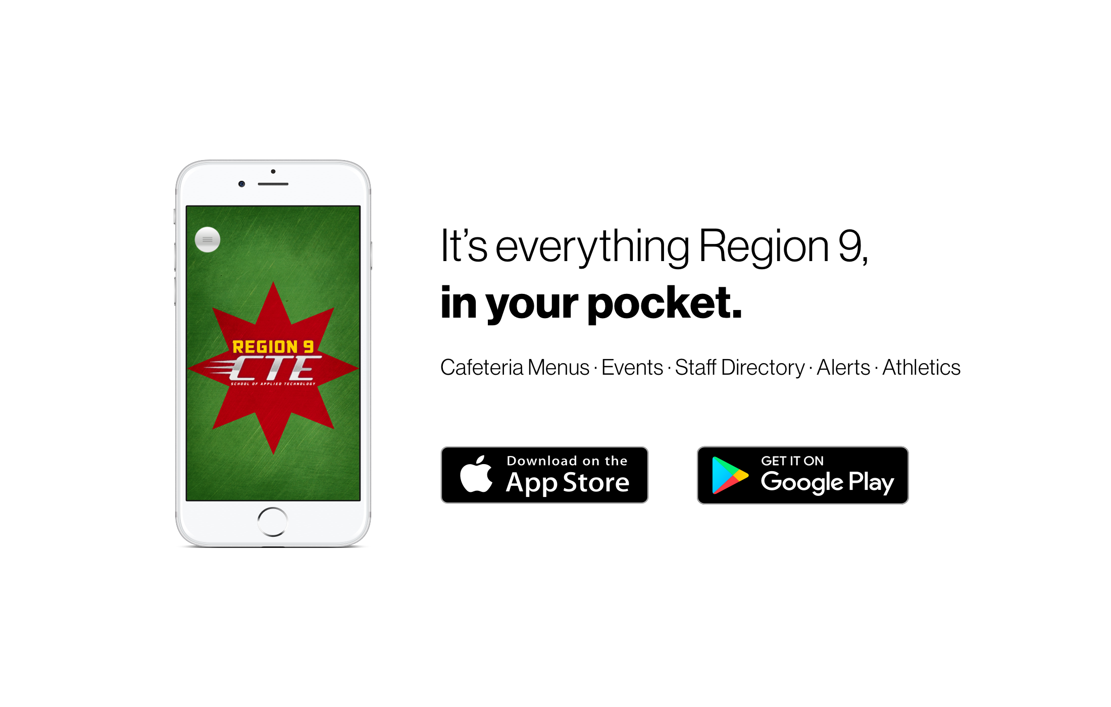 It's everything Region 9, in your pocket.